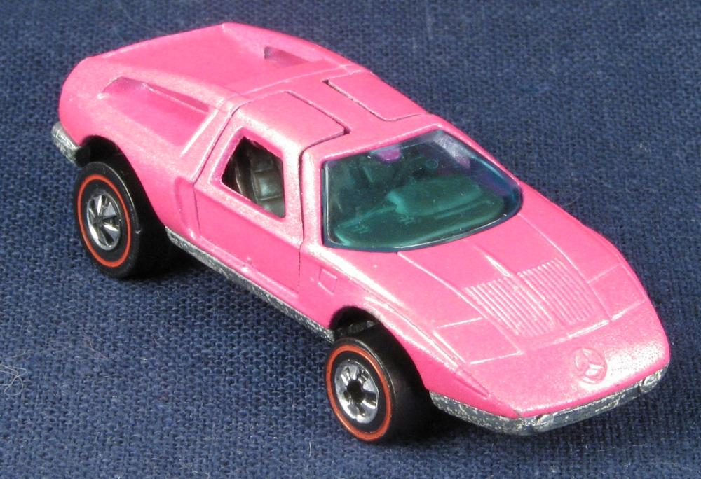 6978c pink mercedes benz c 111 for Pink mercedes benz